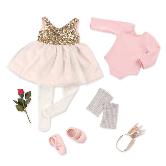 Deluxe Ballerina Outfit - Opening Night Our Generation Doll Accessories- BibiBuzz