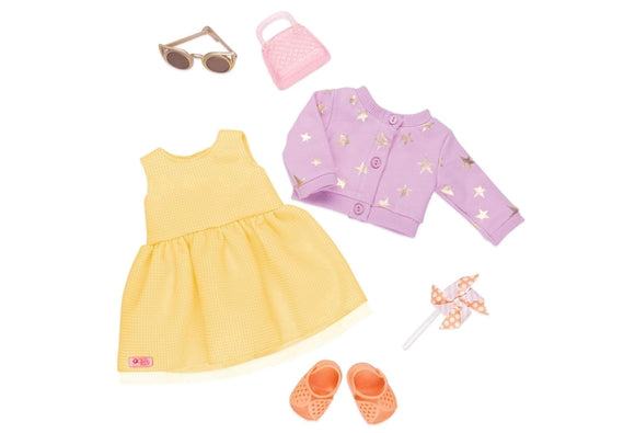 Deluxe Summer Dress Outfit - Sunshine And Stars