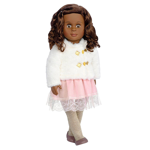 Classic Doll Holiday Hadia 18 Inch Ethnic Our Generation Dolls- BibiBuzz