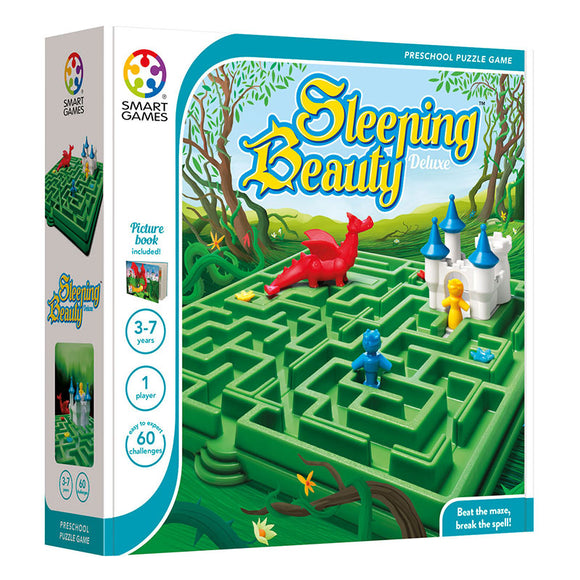 Smart Games - Sleeping Beauty Deluxe Smart Games Educational Games and Puzzles- BibiBuzz