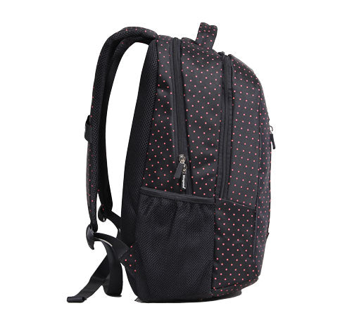 Kingsons Hot Dot Series Backpack Kingsons Bag- BibiBuzz