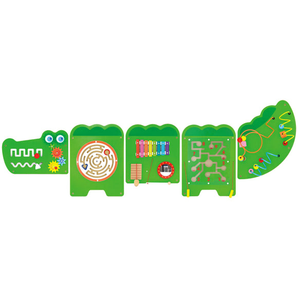 Wall Toy - Crocodile VIGA Developmental Toys- BibiBuzz