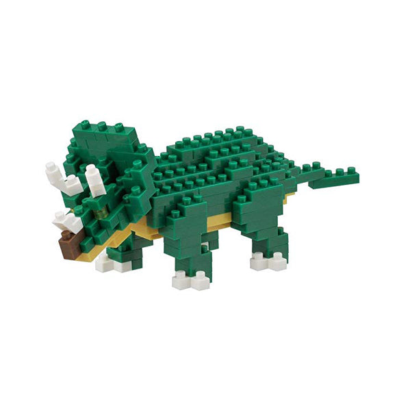 Nanoblocks Triceratops 150pc Nanoblock Construction- BibiBuzz