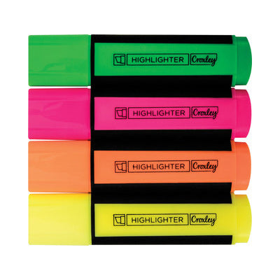Croxley Create Highlighter Croxley Stationery- BibiBuzz