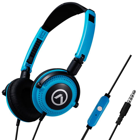 Amplify Melody series headphones black and blue Amplify Accessories- BibiBuzz