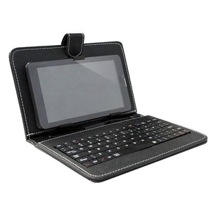 "Amplify 7"" tablet cover with Keyboard Amplify Tablet Cover- BibiBuzz"