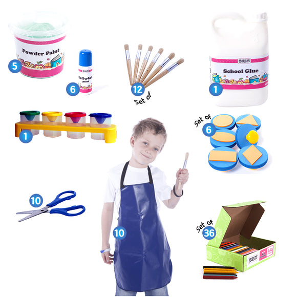 Art & Creative Kit - Early Learning GROW Creative Crafts- BibiBuzz