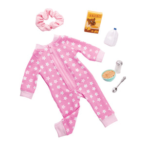 Regular Pyjamas Outfit - Onesies Funzies Our Generation Doll Accessories- BibiBuzz