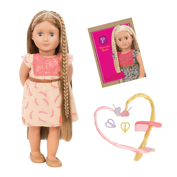 Hairplay Doll Portia 18 Inch Chestnut