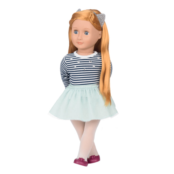 Classic Doll Arlee 18 Inch Copper Our Generation Dolls- BibiBuzz