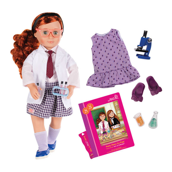 Deluxe Doll Twin Sia 18 Inch Redhead