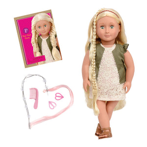 Hairplay Doll Pia 18 Inch Blonde