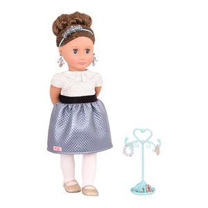 Speciality Doll Jewelery Aliane Brown Our Generation Dolls- BibiBuzz