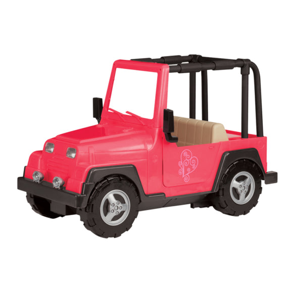 Vehicles My Way And Highways 4X4 Jeep Our Generation Doll Accessories- BibiBuzz