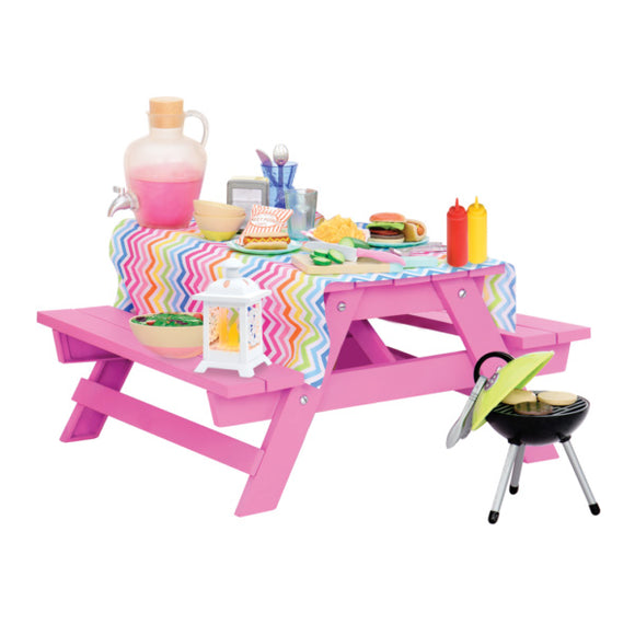 Deluxe Picnic Table Playset