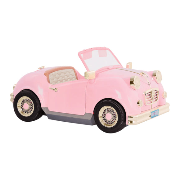 Vehicles Retro Car Our Generation Doll Accessories- BibiBuzz
