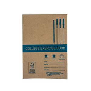 A4 Exercise Book F/M 72pg Freedom Stationery- BibiBuzz