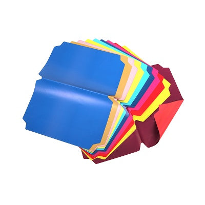 A4 Pre-Cut Rainbow Covers (10) BibiBuzz Stationery- BibiBuzz
