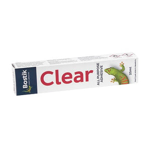 Bostik Clear Adhesive 25ml x2 Bostik Stationery- BibiBuzz