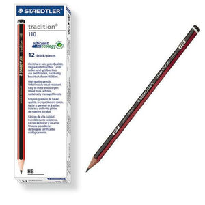 Staedtler Tradition 110 Pencils HB (12) Staedtler Stationery- BibiBuzz