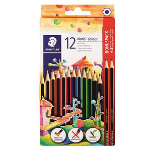 Staedtler Noris Colour Pencils (Set 12) Staedtler Stationery- BibiBuzz
