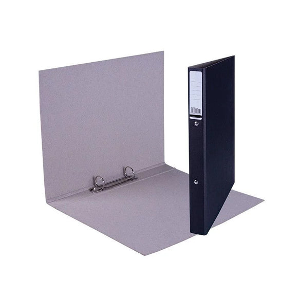 A4 Trunk Board 2 Ring Binder - Black Croxley Stationery- BibiBuzz