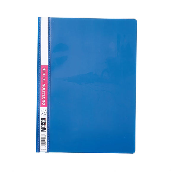 PP Presentation Folder A4 Meeco Stationery- BibiBuzz