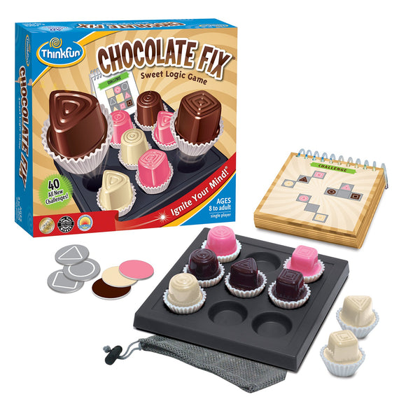 Chocolate Fix Thinkfun Educational Games and Puzzles- BibiBuzz