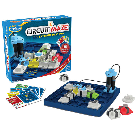 Circuit Maze Thinkfun Educational Games and Puzzles- BibiBuzz