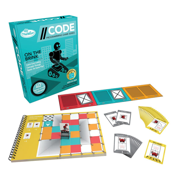 Code - On the Brink Level 1 Thinkfun Coding Games- BibiBuzz