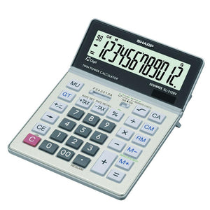 Sharp EL2128V  Calculator Sharp Stationery- BibiBuzz