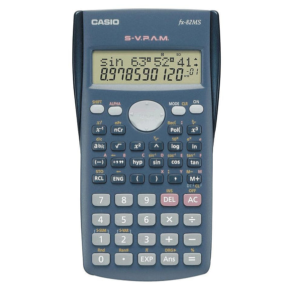 Casio FX-82 MS - Scientific Calculator Casio Stationery- BibiBuzz