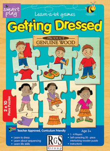 Getting Dressed RGS Smartplay Educational Games and Puzzles- BibiBuzz