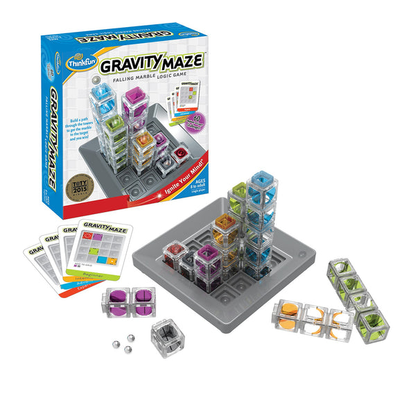 Gravity Maze Thinkfun Educational Games and Puzzles- BibiBuzz