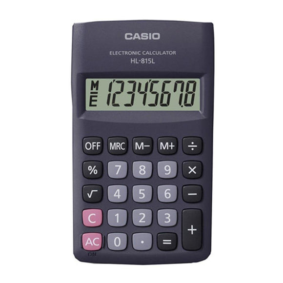 Casio 815L - Pocket Calculator Casio Stationery- BibiBuzz