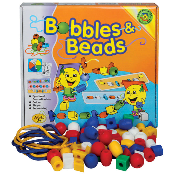 Bobbles & Beads Idem Smile Developmental Toys- BibiBuzz