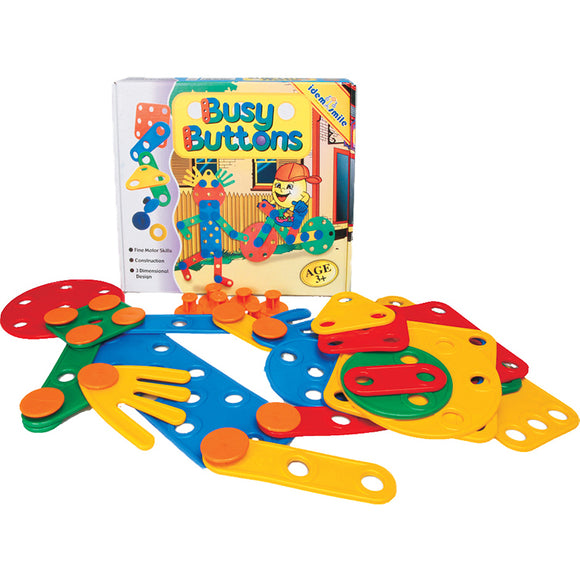 Busy Buttons Idem Smile Developmental Toys- BibiBuzz