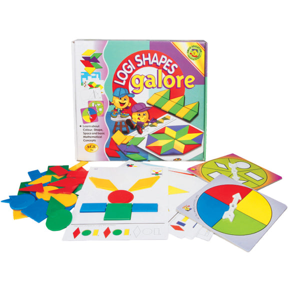 Logi Shapes Galore Idem Smile Mathematics- BibiBuzz