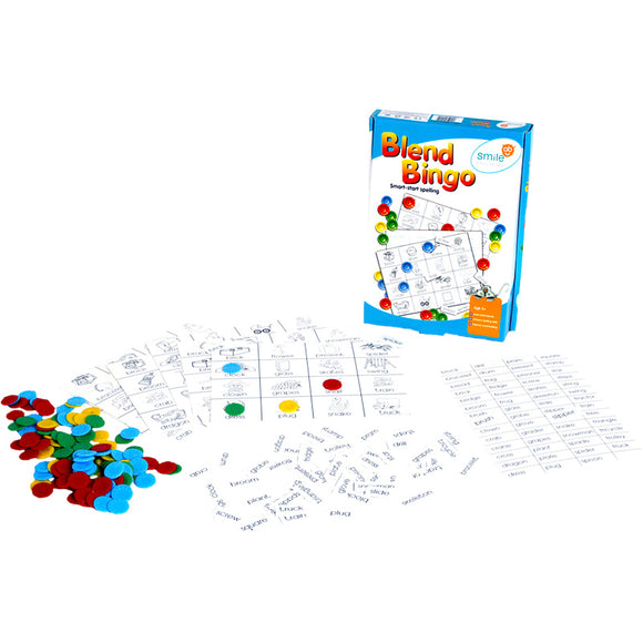 Blend Bingo Idem Smile Language- BibiBuzz