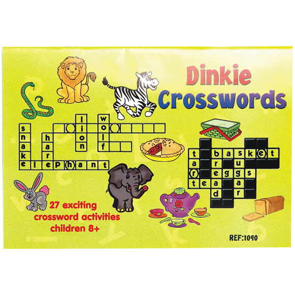 Book - Dinkie Crosswords Idem Smile Language- BibiBuzz