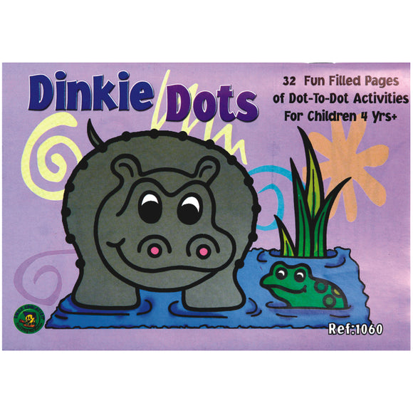 Book - Dinkie Dots 1 - 10 Idem Smile Language- BibiBuzz