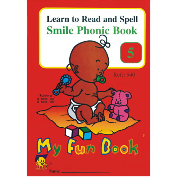 Book - Phonic Book 5 - My Fun Book Idem Smile Language- BibiBuzz