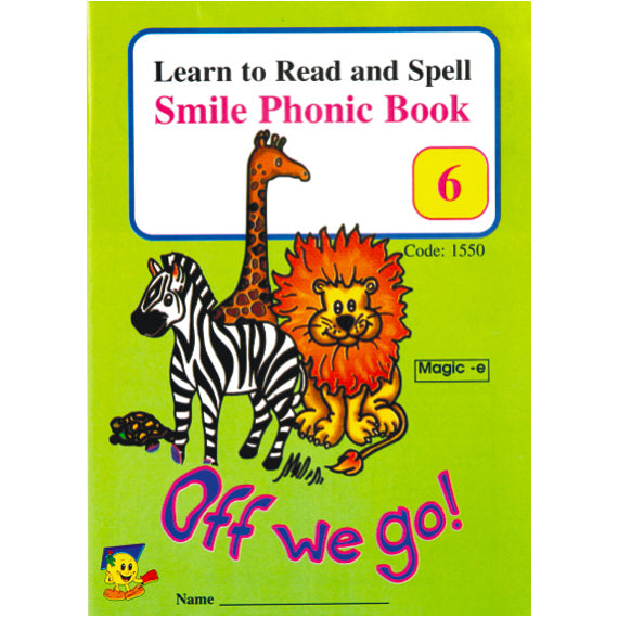 Book - Phonic Book 6 - Off We Go Idem Smile Language- BibiBuzz