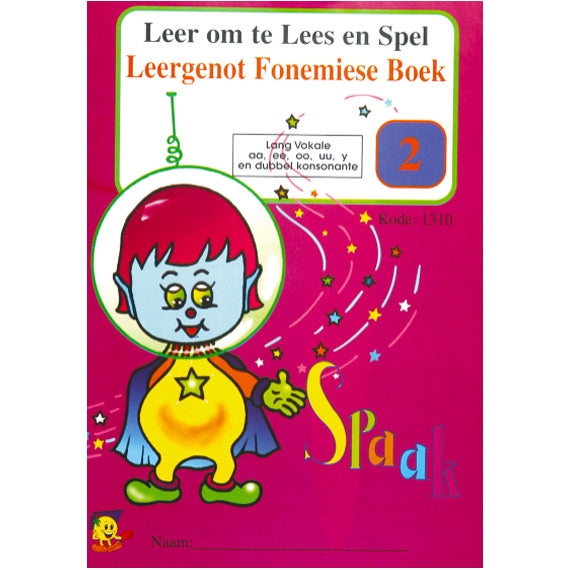 Book - Fonetiese Boek 2 - Spaak Die Marsman Idem Smile Language- BibiBuzz