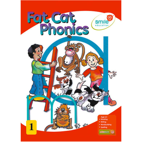 Book - Fat Cat Phonics Idem Smile Language- BibiBuzz