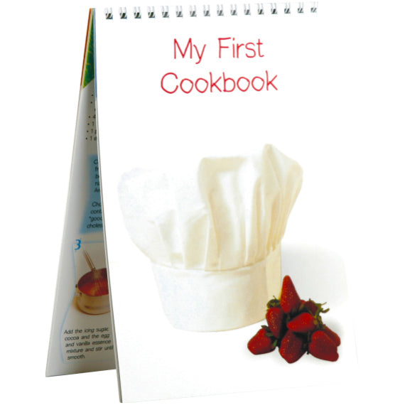 Book - My First Cookbook Idem Smile Language- BibiBuzz