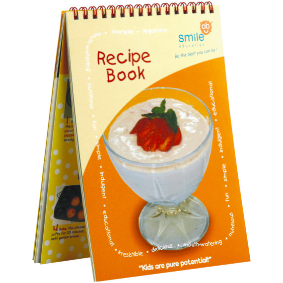 Book - My New Cookbook Idem Smile Language- BibiBuzz
