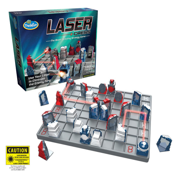 Laser Chess Thinkfun Educational Games and Puzzles- BibiBuzz