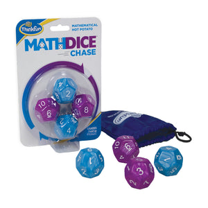 Math Dice Chase Thinkfun Educational Games and Puzzles- BibiBuzz
