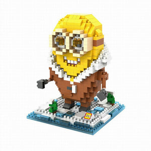 LoZ Diamond Blocks Arctic Minion LoZ Construction- BibiBuzz
